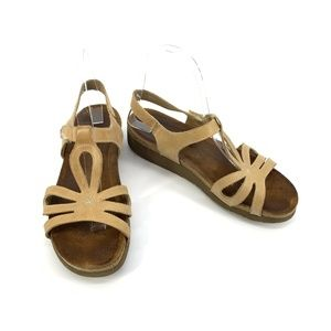 NOAT Wedge Suede Sandals